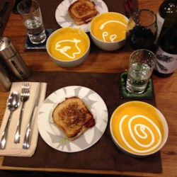 Butternut Squash Soup with a Kick Recipe