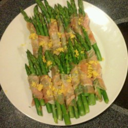 Cold Asparagus with Prosciutto and Lemon Recipe