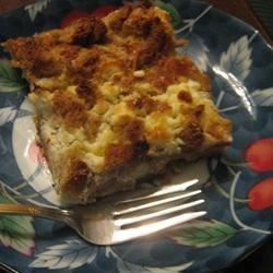 Savory Rosemary Bread Pudding
