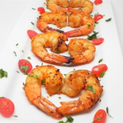Healthier Marinated Grilled Shrimp Recipe