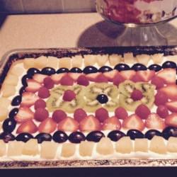 Karen's Fruit Pizza Recipe