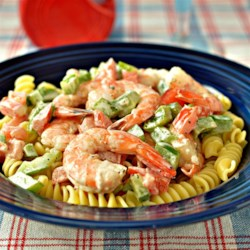 Simple Shrimp Pasta Salad Recipe