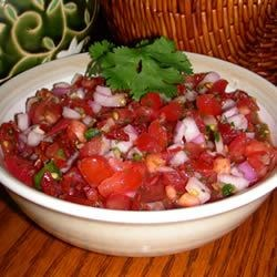 Fresh California Salsa Recipe