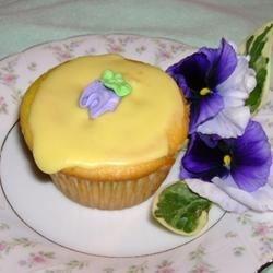 Glazed Lemon Supreme Cupcakes