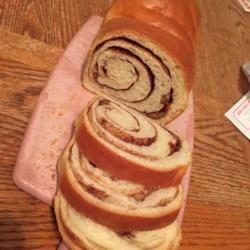 cinnamon swirl bread for the bread machine printer friendly