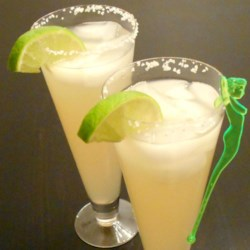 Top Shelf Margaritas on the Rocks