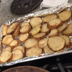 Roasted Parmesan Rosemary Potatoes Recipe