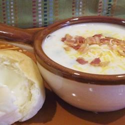 Image of Asparagus Potato Soup, AllRecipes