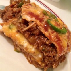 Mexican Lasagna with Cactus Recipe