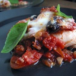 Eggplant Parmigiana Caponata Recipe
