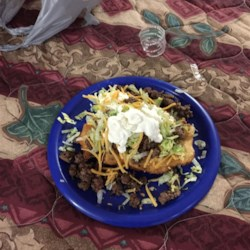 Indian Tacos with Yeast Fry Bread Recipe