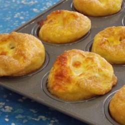 Mini Ham and Swiss Frittatas Recipe