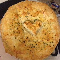 Quick easy pot pie crust recipe
