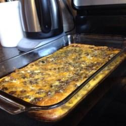 Egg and Sausage Casserole Recipe