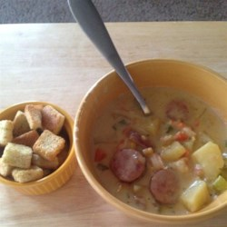 Sheryl's Corn and Crab Chowder Recipe