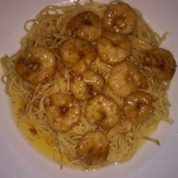 Win's Shrimp and Spaghetti Recipe