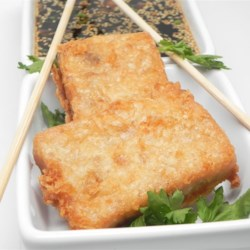 Pan Fried Daikon Cake Recipe