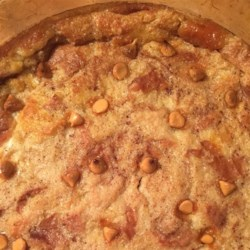 Butterscotch Raisin Bread Pudding Recipe