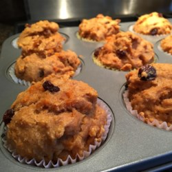Sweet-Potato Muffins Recipe