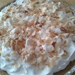 Light Coconut Pie
