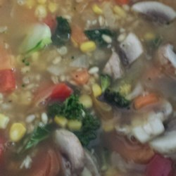 Mushroom and Barley Soup Recipe