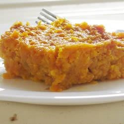 Photo of Cafeteria Carrot Souffle by Tammy