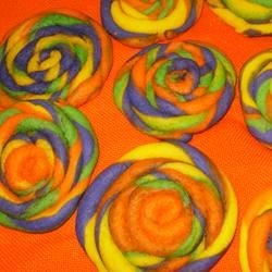 Super fun colorful Playdough Cookies!