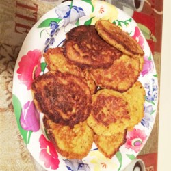 Cauliflower Fritters Recipe