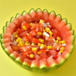 Watermelon and Corn Salsa Recipe