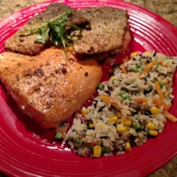 Pan-Fried Wild Salmon Recipe