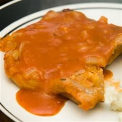 Pork Chops in Red Sauce Recipe