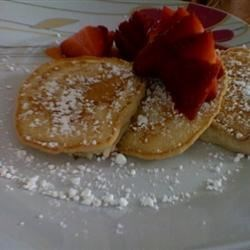 Vegan Pancakes with Strawberries