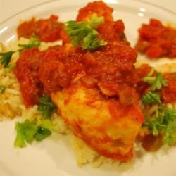 Salsa Simmered Chicken Recipe