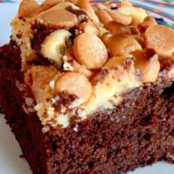 Butterscotch Cream Cheese Brownies Recipe