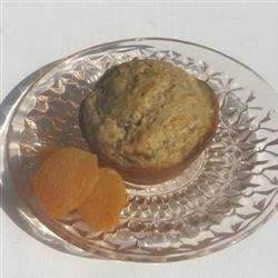 Image of Apricot Oat Muffins, AllRecipes