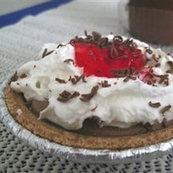 Photo of Raspberry French Silk Pie by SillyBarista