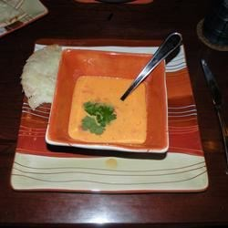 red pepper soup! really nice