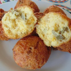 Jillena's Crab Hush Puppies Recipe