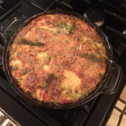 Quiche with Kale, Tomato, and Leek Recipe