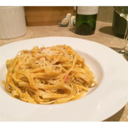 Crawfish Fettuccine I Recipe