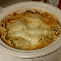 Slow Cooker Lasagna II Recipe