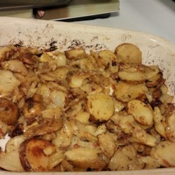 Oven Fried Potatoes I Recipe