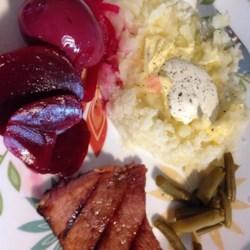 Sweet and Sour Ham Steak Recipe
