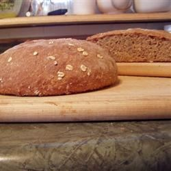 Whole Wheat High Fiber Bread Recipe