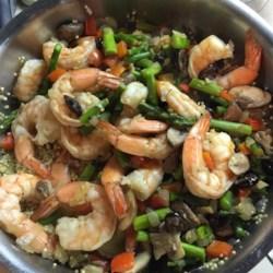 Shrimp Quinoa Recipe
