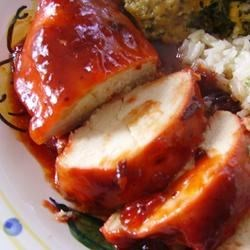 Cranberry Sauce Chicken II