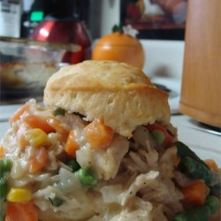 Chicken Biscuit Pie Recipe