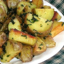 Cilantro and Garlic Potatoes Recipe