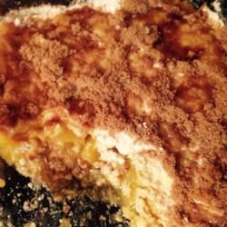 Peach Crumble Cake Recipe