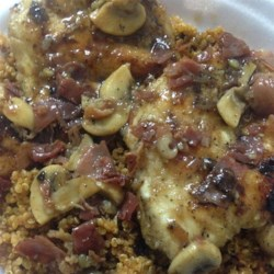 Chicken Marsala Over White Rice Recipe